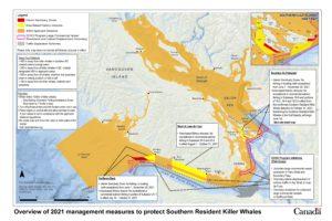 Canada Interim Sanctuary Zones map